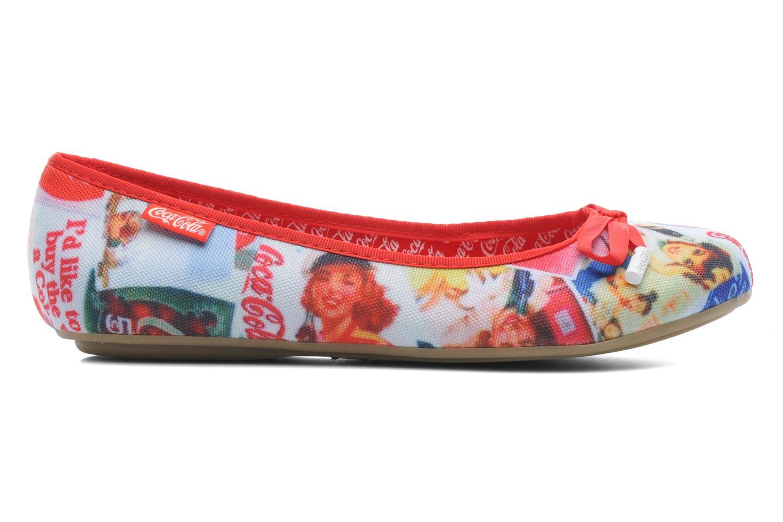 Ballerinaer Coca-cola shoes Rose Multi se bagfra
