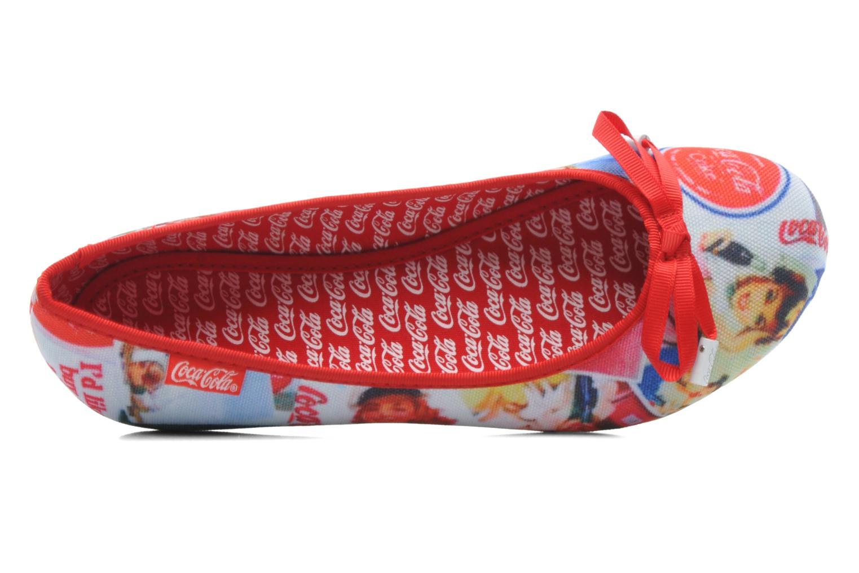 Ballerinaer Coca-cola shoes Rose Multi se fra venstre