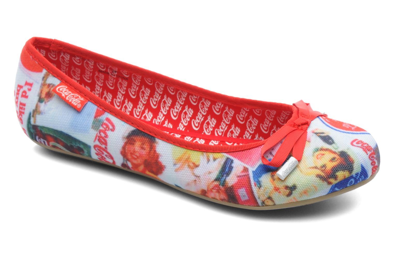 Ballerinaer Coca-cola shoes Rose Multi detaljeret billede af skoene