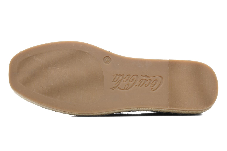 Scarpe di corda Coca-cola shoes Juta Retro Nero immagine dall'alto