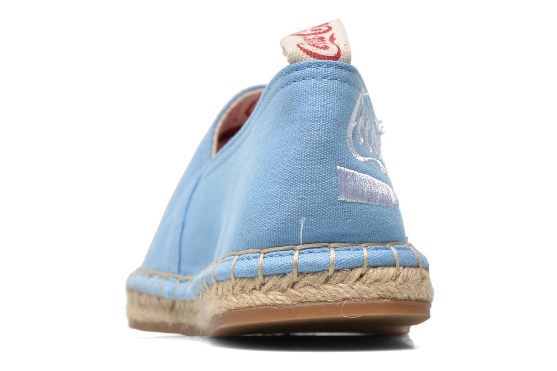 Scarpe di corda Coca-cola shoes Juta Classic W Azzurro immagine destra