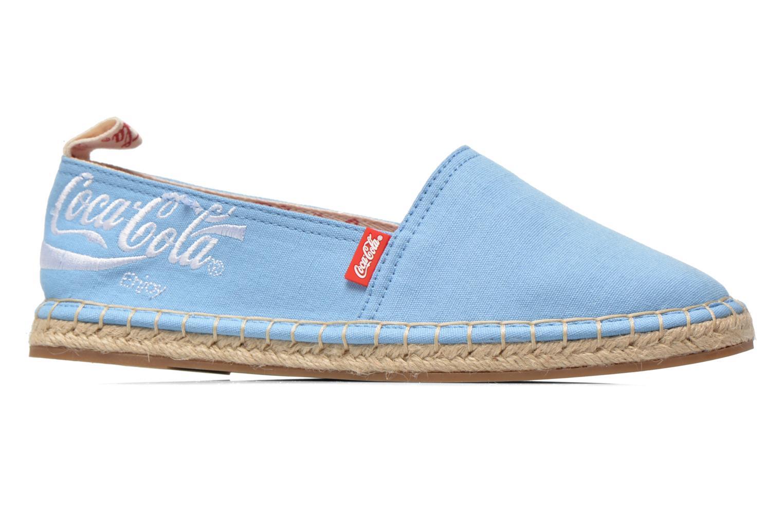 Scarpe di corda Coca-cola shoes Juta Classic W Azzurro immagine posteriore