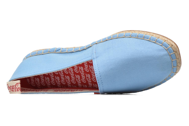 Scarpe di corda Coca-cola shoes Juta Classic W Azzurro immagine sinistra