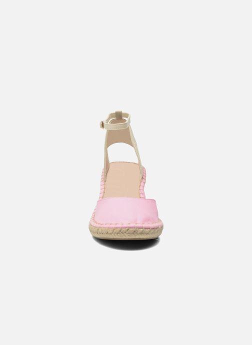 Sandales et nu-pieds Coca-cola shoes Juta City Rose vue portées chaussures