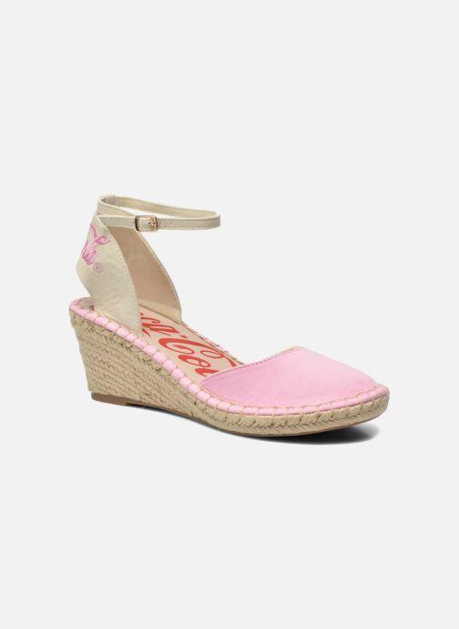 Sandales et nu-pieds Coca-cola shoes Juta City Rose vue détail/paire