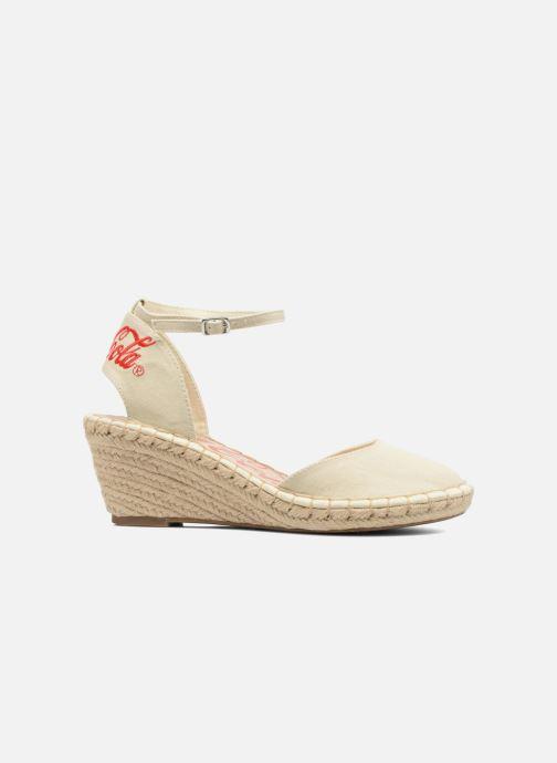 Sandales et nu-pieds Coca-cola shoes Juta City Beige vue derrière