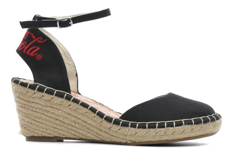 Sandali e scarpe aperte Coca-cola shoes Juta City Nero immagine posteriore