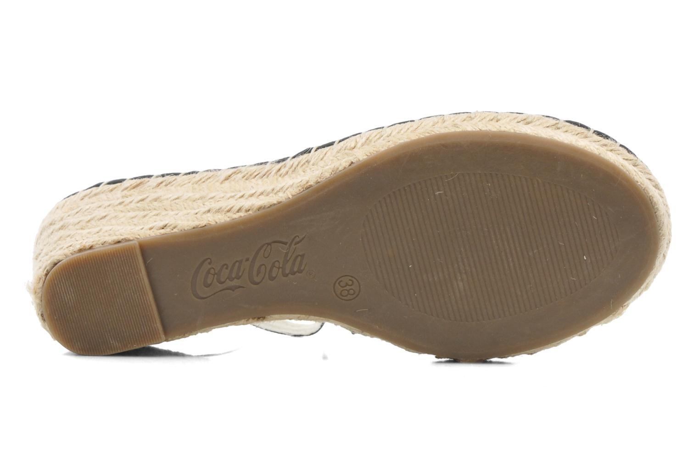 Sandaler Coca-cola shoes Juta City Sort se foroven
