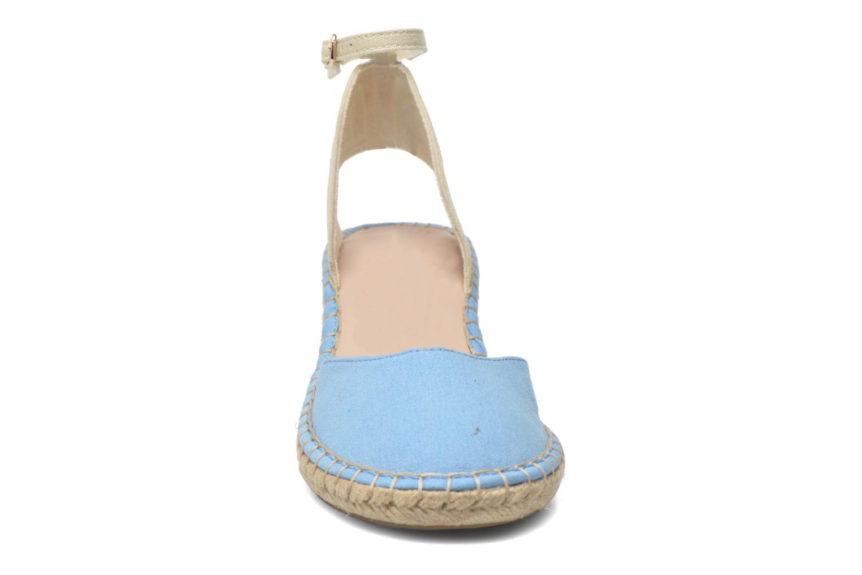 Sandali e scarpe aperte Coca-cola shoes Juta City Azzurro modello indossato