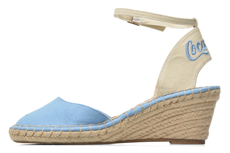 Sandali e scarpe aperte Coca-cola shoes Juta City Azzurro immagine frontale