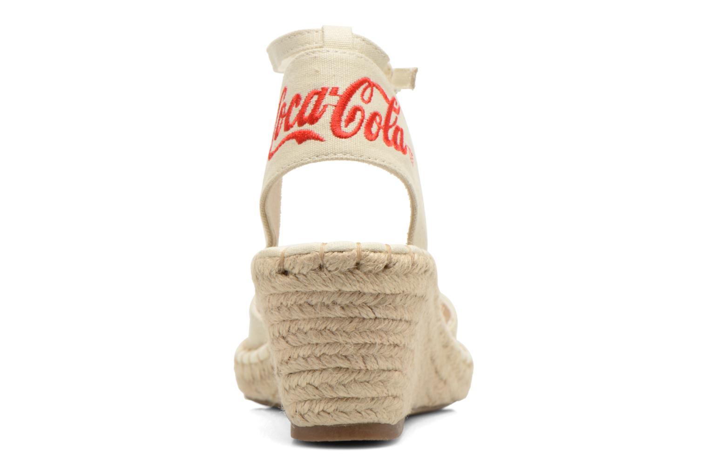 Sandaler Coca-cola shoes Juta City Beige Se fra højre