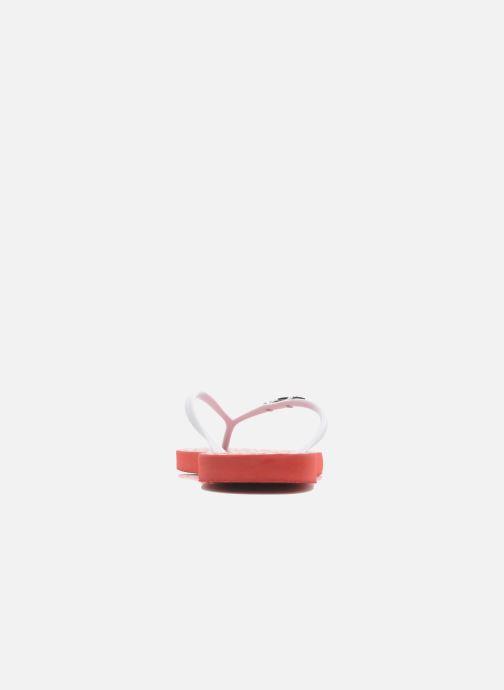 Tongs Coca-cola shoes Dots Rouge vue droite
