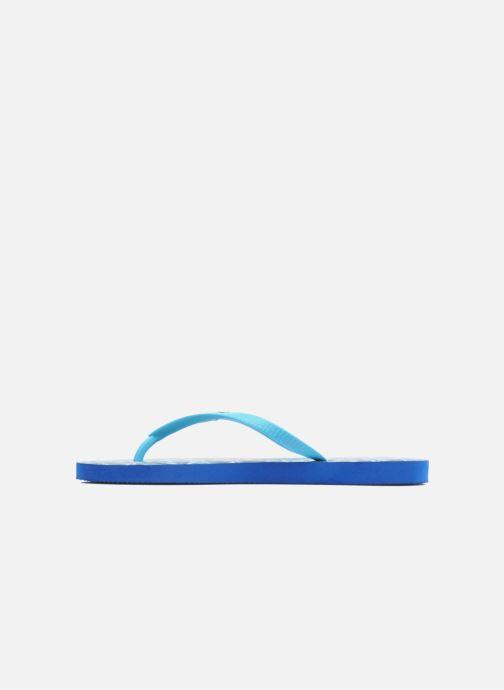 Flip flops Coca-cola shoes Water Girls Blue front view