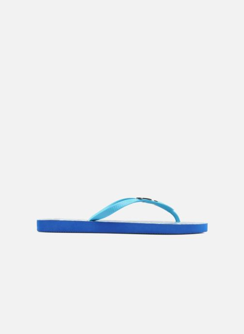 Flip flops Coca-cola shoes Water Girls Blue back view
