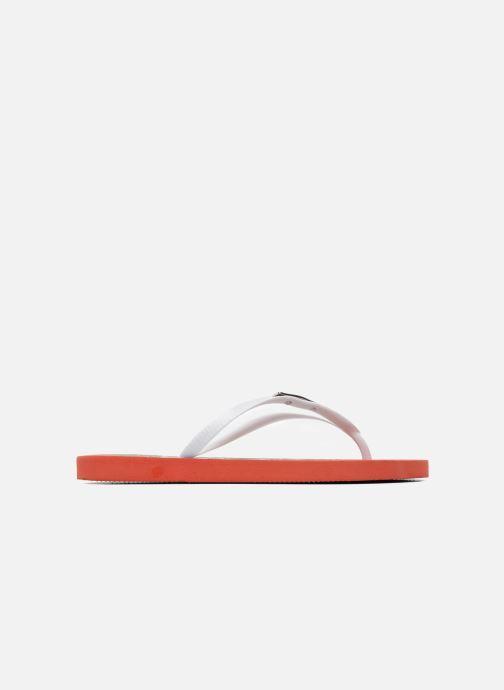 Flip flops Coca-cola shoes Garrafa Girls Red back view