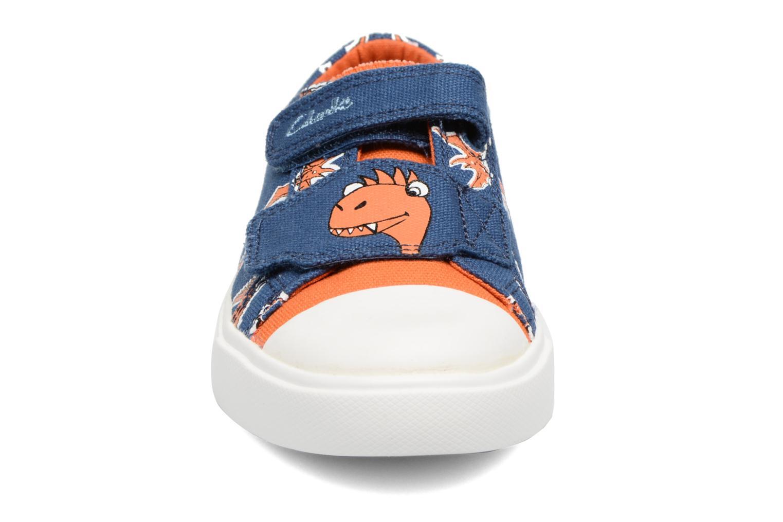 Baskets Clarks Tricer Roar Bleu vue portées chaussures