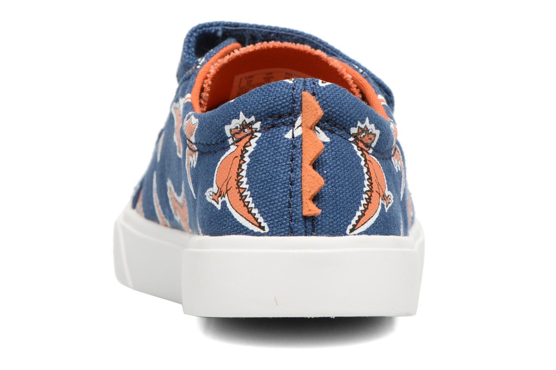 Baskets Clarks Tricer Roar Bleu vue droite