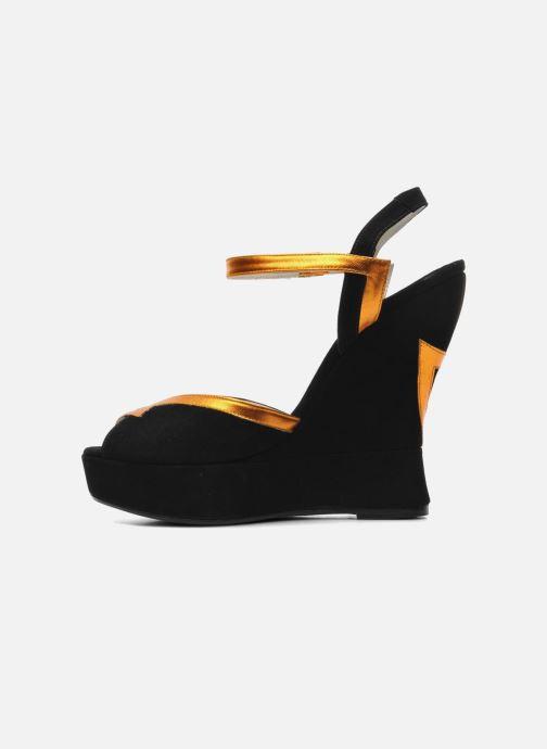 Sandales et nu-pieds Terry de Havilland Izzy Noir vue face