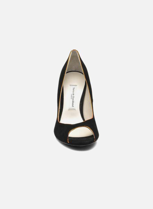 Escarpins Terry de Havilland Chloe Noir vue portées chaussures