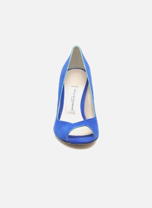 Escarpins Terry de Havilland Chloe Bleu vue portées chaussures