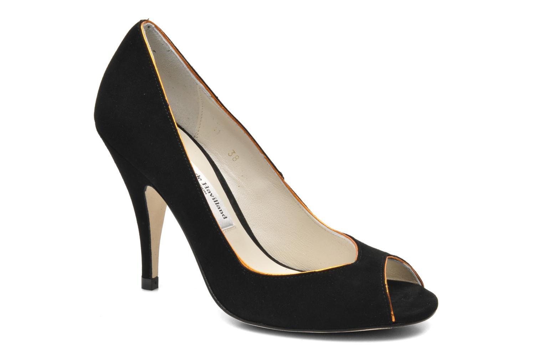 Zapatos de tacón Terry de Havilland Chloe Negro vista de detalle / par