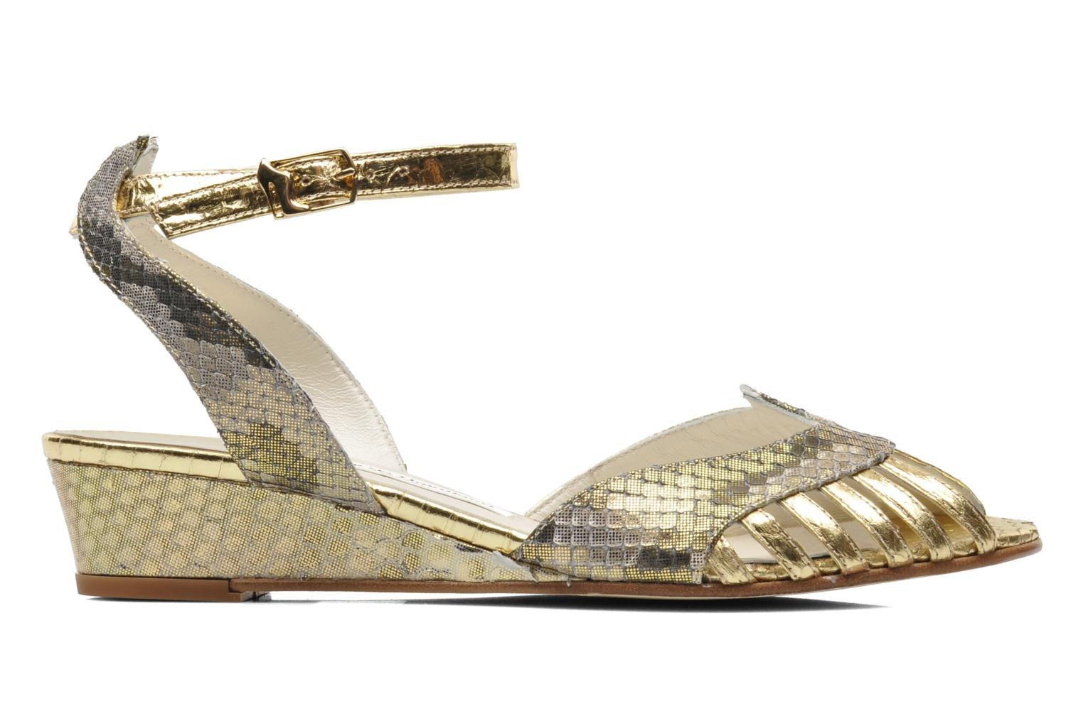 Sandals Terry de Havilland Mini Margaux Bronze and Gold back view