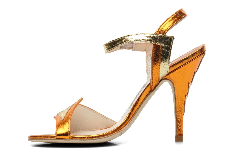 Sandales et nu-pieds Terry de Havilland Ameena Orange vue face
