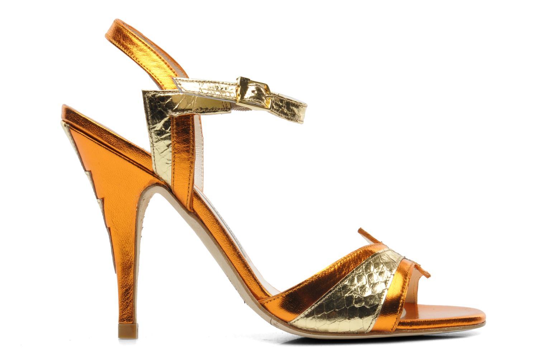 Sandales et nu-pieds Terry de Havilland Ameena Orange vue derrière