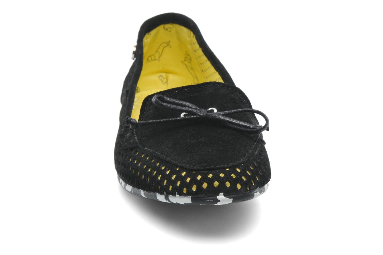 Mocassins Yum Gum Mina 01 Noir vue portées chaussures