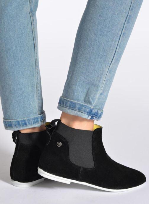 Stiefeletten & Boots Yum Gum Kite 01 schwarz ansicht von unten / tasche getragen