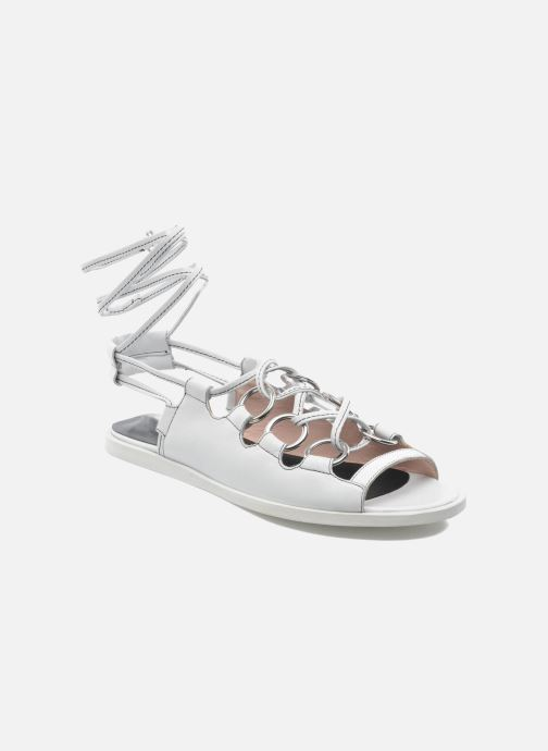 Opening Ceremony Kali multi ring lace up (Blanc) - Sandales et nu-pieds chez