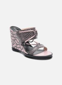 Zoccoli Donna Mae ankle strap wedge