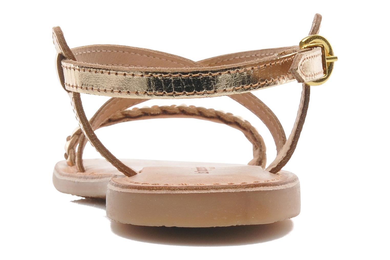 Sandales et nu-pieds Les Tropéziennes par M Belarbi Baladin Or et bronze vue droite