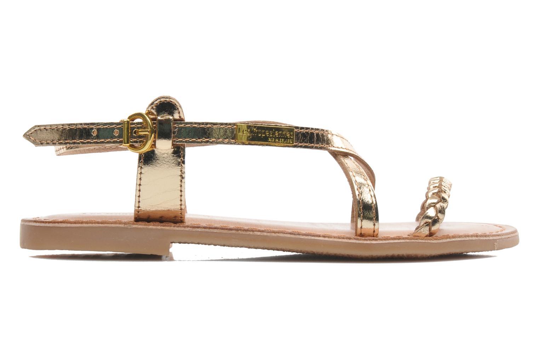 Sandales et nu-pieds Les Tropéziennes par M Belarbi Baladin Or et bronze vue derrière