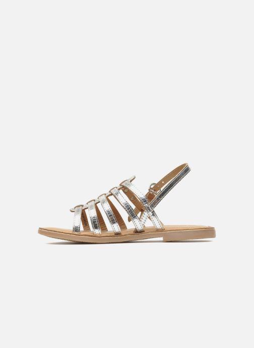 Sandales et nu-pieds Les Tropéziennes par M Belarbi Mangue Argent vue face