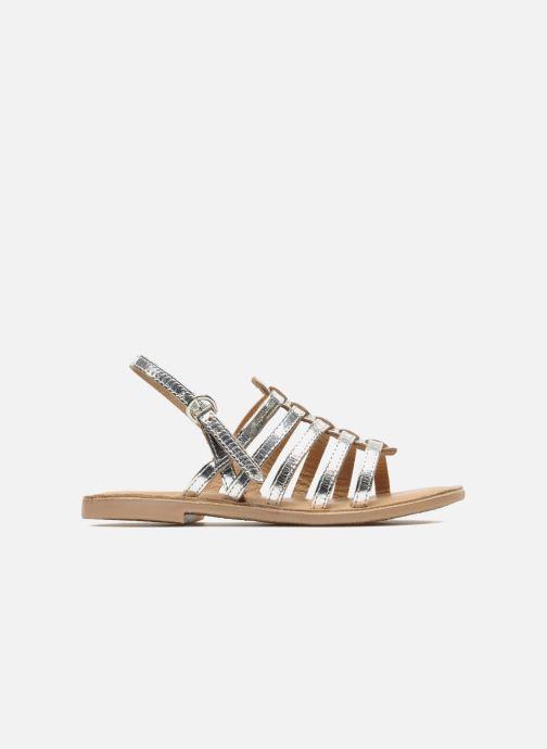 Sandales et nu-pieds Les Tropéziennes par M Belarbi Mangue Argent vue derrière