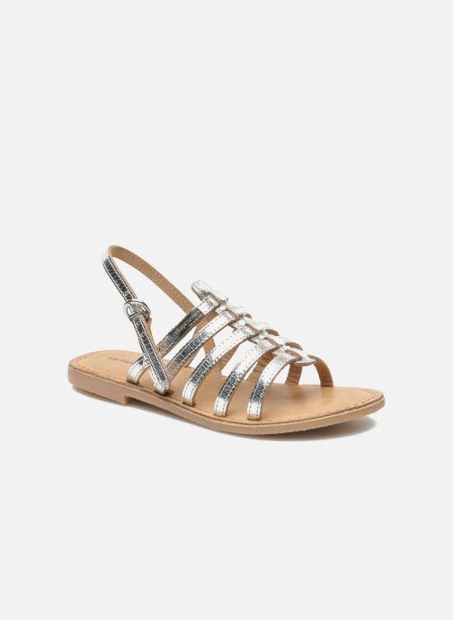 Sandales et nu-pieds Les Tropéziennes par M Belarbi Mangue Argent vue détail/paire
