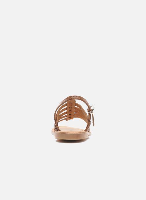 Sandales et nu-pieds Les Tropéziennes par M Belarbi Mangue Marron vue droite