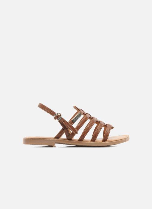 Sandales et nu-pieds Les Tropéziennes par M Belarbi Mangue Marron vue derrière