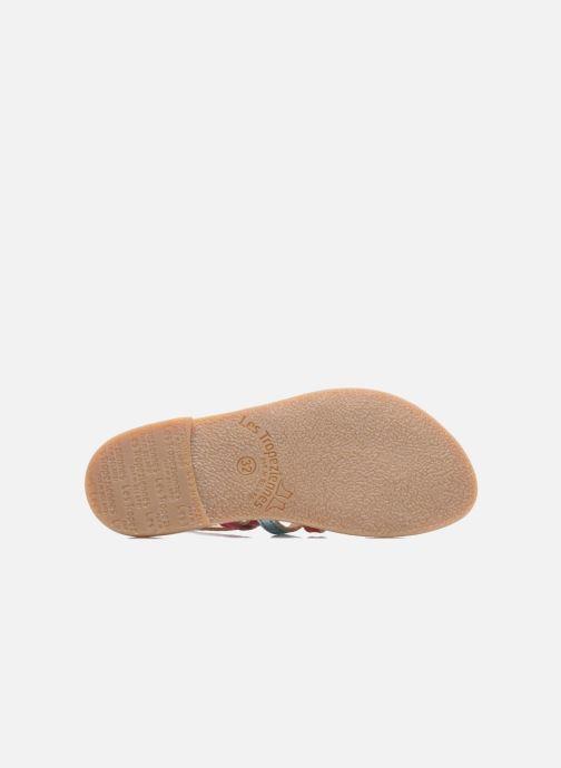 Sandales et nu-pieds Les Tropéziennes par M Belarbi Mangue Multicolore vue haut