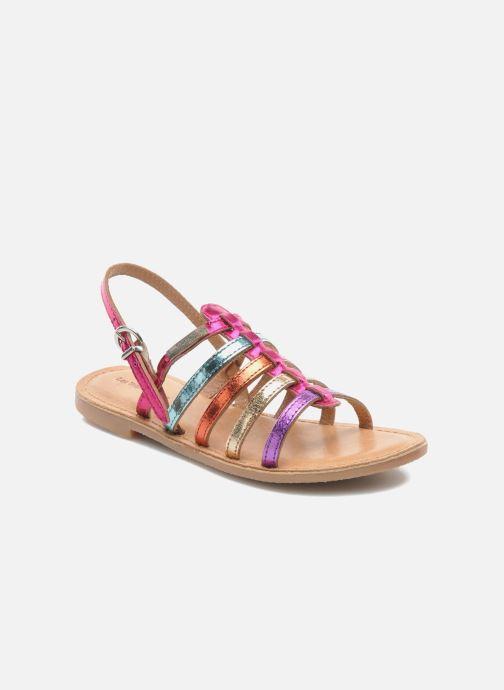 Sandals Les Tropéziennes par M Belarbi Mangue Multicolor detailed view/ Pair view