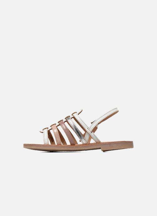 Sandales et nu-pieds Les Tropéziennes par M Belarbi Mangue Blanc vue face