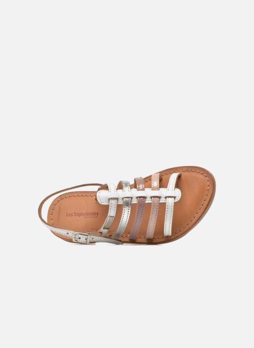 Sandales et nu-pieds Les Tropéziennes par M Belarbi Mangue Blanc vue gauche