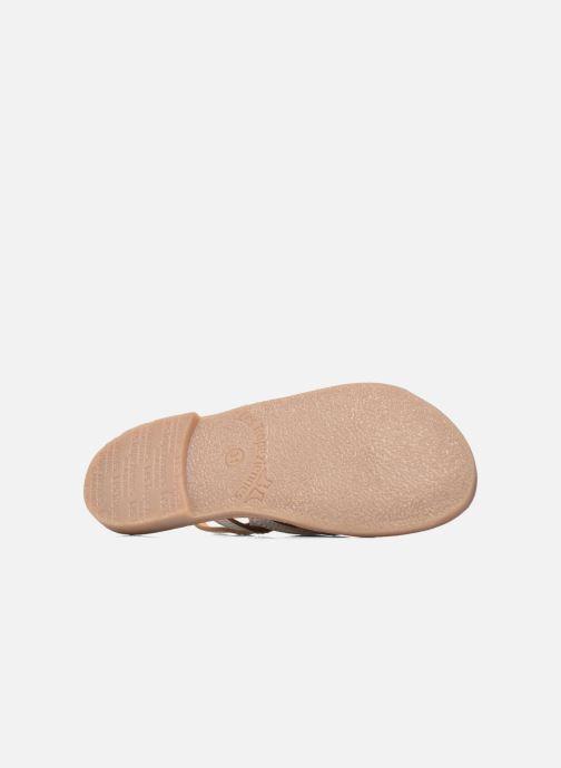 Sandales et nu-pieds Les Tropéziennes par M Belarbi Mangue Blanc vue haut