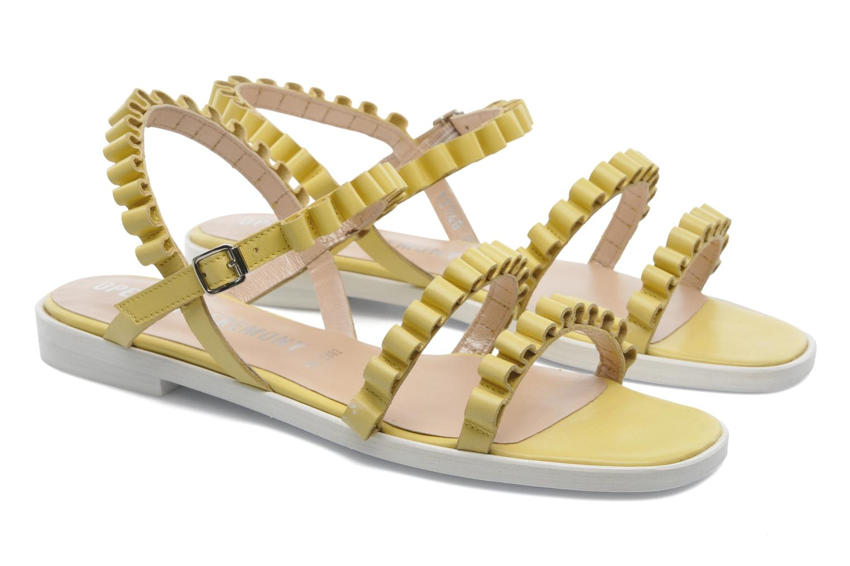 Sandales et nu-pieds Opening Ceremony Mazzy sandal Jaune vue 3/4