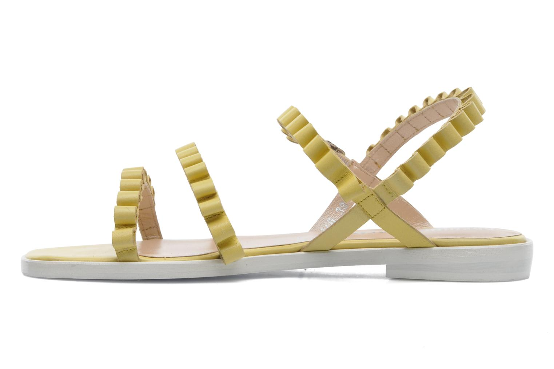 Sandales et nu-pieds Opening Ceremony Mazzy sandal Jaune vue face