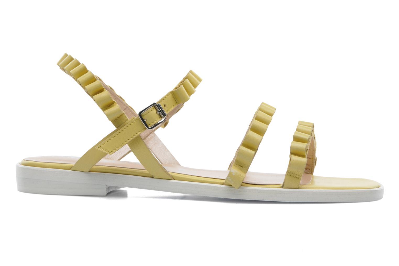 Sandales et nu-pieds Opening Ceremony Mazzy sandal Jaune vue derrière