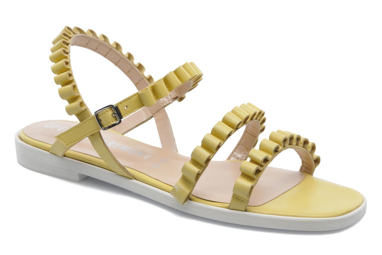 Sandales et nu-pieds Opening Ceremony Mazzy sandal Jaune vue détail/paire