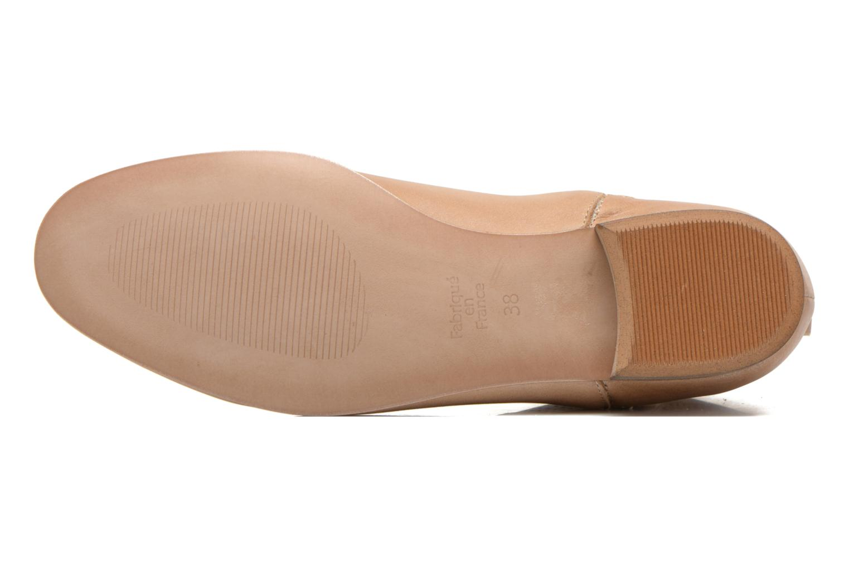 Bottines et boots Karston Joani Beige vue haut