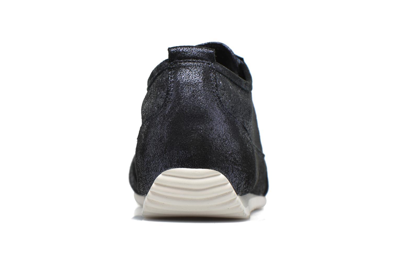 Baskets Karston Cacao Bleu vue droite